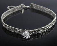 الجليد المختنق قلادة قلادة الأزياء قلادة قصيرة للمرأة الرقبة مجوهرات طوق الرقبة سلسلة للمرأة