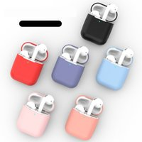 For Airpods Case Soft Silicone Headphone Cover For Airpods C...