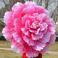 Desempenho Dance Dance Umbrella 3D Peony flor guarda-chuva chinês multi camada de pano Guarda-chuvas Stage Props KKA7135