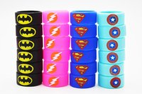 Vape Band Silicone Rings with Superman Flash Captain America...
