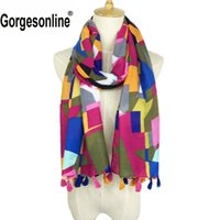 Hot Selling Very Pretty Printing Design Hijab Shawl High Qua...