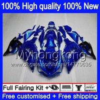 Инъекции для KAWASAKI ZX-14R 2012 2013 2014 2015 2016 2017 глянцевый синий 25MY.15 ZZR1400 ZX 14R ZZR-1400 ZX14R 12 13 14 15 16 17 OEM обтекатель