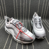 Men 97 Wolf Grey MEnta White Running Shoes New Women Serena ...