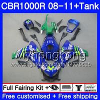 Bodys + Tank para HONDA CBR 1000RR CBR 1000 RR Movistar Blue hot 2008 2009 2010 2011 277HM.43 CBR1000 RR 08 10 11 CBR1000RR 08 09 10 11 Carenado