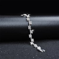 high quality Variety of Design Charm Silver Bracelet Women&C...