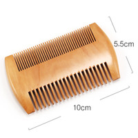 9. 5cm * 5. 5cm Natural Sandalwood Pocket Beard & Hair Combs f...