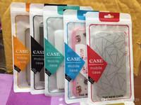 12 * 22cm del telefono del pacchetto di vendita al dettaglio di caso Sacchetti di OPP Pacchetti Zipper Poly OPP contenitore di imballaggio per il cellulare Caso 4.7 5,5 pollici