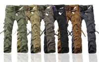 2019 Worker Pants CHRISTMAS NEW MENS CASUAL ARMY CARGO CAMO ...