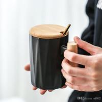 Ins ceramica manico in legno Coppa casa gli amanti del caffè tazze Tumbler Ripristino Giorno caldo di vendita 12lx b1 di sensi antichi Originalità San Valentino
