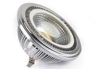 9W AR111 COB Spot LED Ampoules G53 Lampe 85-265V blanc chaud blanc froid CE ROSH Garantie 2 ans d'éclairage intérieur 9 Watt Livraison gratuite