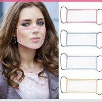 2020 NEW Прозрачная маска для лица Камуфляж моющийся многоразовые Маски против пыли Антифог Очистить Проектировщик Face Mask 4styles