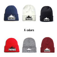 Game Battle Knitted Hat 6 Colors Hip Hop Teenager Embroidery...
