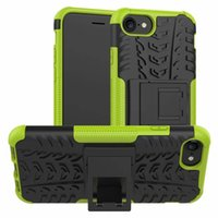 Dazzle Rugged Hybrid-Fall für Iphone SE 2gen 2020 7 8 Galaxy A21 A70 A40 Stoß- Rüstung harte PC + TPU Anti-Skid Telefon Defender Haut Abdeckungen