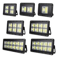 IP65 COB Projektör 100W 200W 300W 400W 600W AC110V 220V LED Spot Dış Aydınlatma Duvar Road Garden Sanayi Kare Spotlight