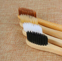 Environmental Bamboo Charcoal Toothbrush For Oral Health Low...