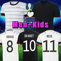 TOP Germany 2020 soccer jersey Home kit HUMMELS KROOS DRAXLE...