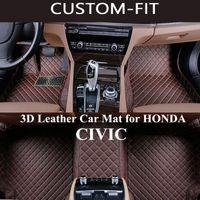 Custom Car Fußmatten für HONDA CIVIC 5d 2004 2006 2011 2014 Zubehör Teppich Tapetes Para Automovil Tapete Carro Alfombra Coche
