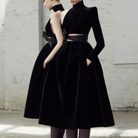 섹시한 검은 벨벳 strapless 미니 드레스 아름 다운 여자 친구 생일 파티 저녁 치마 기질 칵테일 파티 이브닝 드레스
