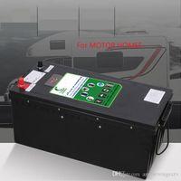 사용자 지정 12V / 24V 100AH / 150AH / 200AH / 260Ah / 300Ah / 400Ah 리튬 이온 배터리 팩이 내장 BMS 태양 에너지 주택 차 + 충전기