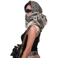 Thickened army fan outdoor tactical scarf Arab square towel ...