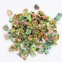 Drop shipping 2 adet Doğal Bizmut Kuvars Kristal Eskitme Taşlar Mineral Örneği Gökkuşağı Renkli Dekorasyon Şifa