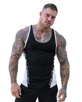 T-shirt da uomo nero senza maniche t-shirt da uomo canottaggio maschile estate uomo traspirante sottile sport fitness sottile sottile asciugatura sottile
