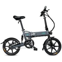 FIIDO D2 Folding Moped Electric Bike E- bike with 16 inch inf...
