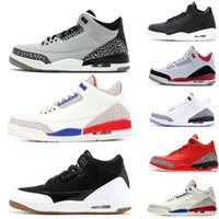wholesale Mens designer Basketball Shoes city of flight Blac...
