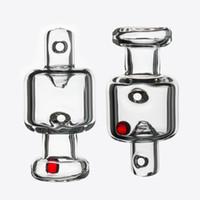 Cappuccio di carboidrati con perle rosse terpe perline perline per perle di filatura per il quarzo smussato del quarzo smussato per fumo piatto da 25 mm Banger Nail DAB Rig