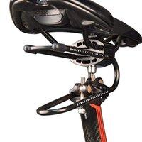 Велосипед седла замечательно! Велосипедное велосипедное устройство MTB Shocks Spring Soddle поглотителя поглотителя дорожные велосипеды мужчины 165x95x60mm углерод