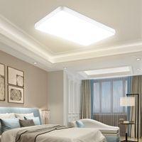 40cm 50cm 60cm 90cm Squre LED 천장 조명 110V 가정용 실내 호텔에 대한 원격 컨트롤러 화이트