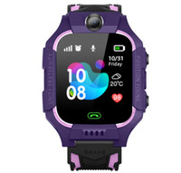 Q19 montre smart watch wateproof Smart Kids montre emplacement LBS Tracker Smartwatches carte SIM avec l'appareil photo SOS pour Android iPhone Smartphones en boîte