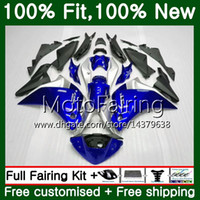 Injection Pour HONDA CBR300R CBR250R MC41 11 12 13 14 15 75MF8 CBR250 R CBR 250R 250 R 2011 2012 2014 2014 2015 Hot Blue Carénage Carrosserie