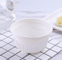 fast food box corn starch round soup bowl compostable biodeg...