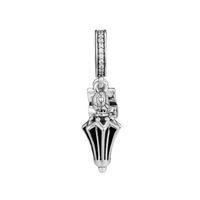 Parapluie Charms S925 Silver Original Fits pour Bracelet Compatible Bracelet Mary Poppins Parapluie Suspending 797507CZ H8