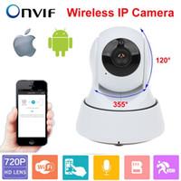 Telecamera di sorveglianza IP Camera di sicurezza domestica Wireless Mini Wifi 720P Day Nigh del CCTV Baby Monitor all'ingrosso