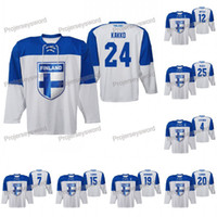 Finlandia Kaapo Kakko 2019 IIHF Campeonato Mundial Jersey Marko Anttila Oliwer Kaski Savinainen Niko Ojamaki Juhani Tyrvainen Toni Rajala