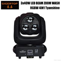 TIPTOP 3x40W RGBW 4IN1 Mini Led Moving Head Light Bee Eyes Equipped with Hanging Quick Lock Build In Program DJ Church Party