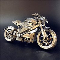 لغز MMZ نموذج نانيوان 3D المعادن الانتقام للدراجات النارية مجموعة لغز 01:16 ل DIY 3D قص الليزر نموذج لعب اللغز لMX200414 الكبار
