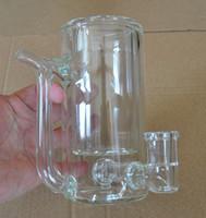 الزجاج القهوة القدح بونغ أنابيب المياه dab النفط تلاعب اللون واضح مع اليرقة 16 سنتيمتر الارتفاع 700 جرام
