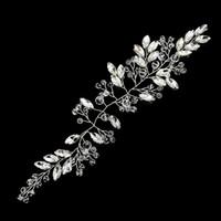 Nuovo barocco accessori per capelli sposa personalità della moda foto di nozze di cristallo squisita fascia per capelli gioielli regalo