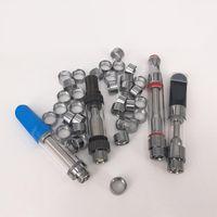 510 Hilos Adaptador magnético H10 Anillos de metal para batería Vape Carritos Ego Hilo Anillos de metal magnéticos Vape Pluma CE3 Th205 M6T