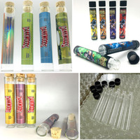 120*21mm Moonrock Clear Dankwoods Pre Roll Glass Tubes Dry H...