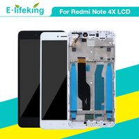 Display originale per Xiaomi Redmi Note 4X LCD Touch Screen Digitizer Assembly con telaio CPU Snapdragon 625 per Redmi Note 4X Replacement