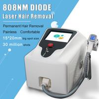 2020 808nm Máquina de remoção de cabelo indolor escura facial máquina de remoção de cabelo laser diodo cabelo anti-regravante