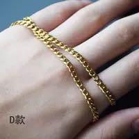 316L Титановая сталь ожерелье persongality Европа и американский Джокер стиль золото / посеребренные Рето панк ожерелье