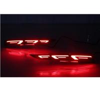 هيونداي سولاريس اللكنة 2017 2018 متعدد الوظائف السيارات LED الخلفية مصباح الضباب الوفير السيارات الخفيفة ضوء الفرامل العاكس