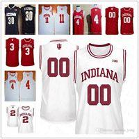 Özel Indiana Hoosiers Koleji Basketbol 11 Devonte Yeşil 13 Juwan Morgan 15 Zach McRoberts 20 de'ron Davis 21 Jerome Hunter NCAA Formalar
