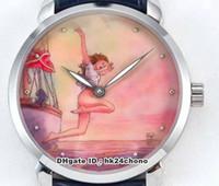 10 스타일 최고의 시계 시코 제조 ETA2892 28800VPH Autoamtic 남성 시계 3203-136LE-2 / MANARA.03 가죽 스트랩 신사 손목 시계 U1C