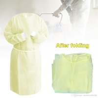 DHL Ship Protection Disposable Protective Isolation Clothing...
